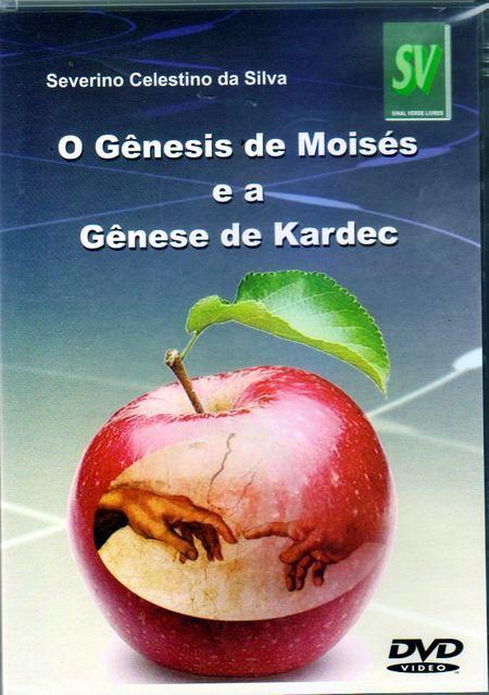GENESIS DE MOISES - DVD- E A GENESE DE KARDEC