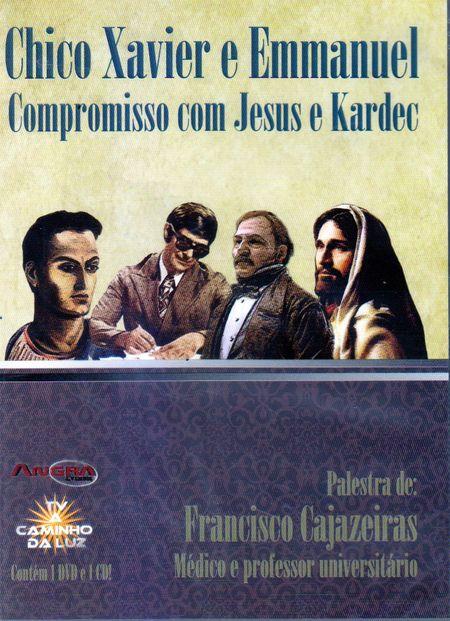 CHICO XAVIER E EMMANUEL - DVD
