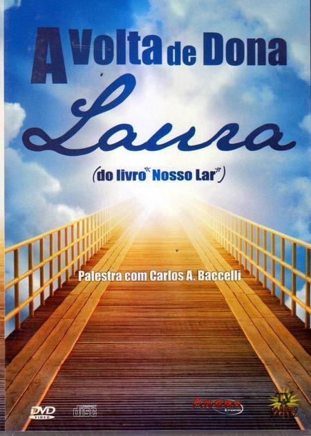VOLTA DE DONA LAURA (A) - DVD