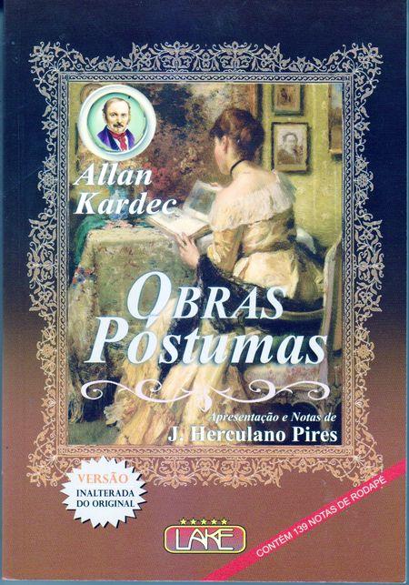 OBRAS POSTUMAS - NORMAL LUXO 16 X 23
