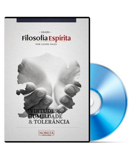 VIRTUDES HUMILDADE E TOLERANCIA - DVD