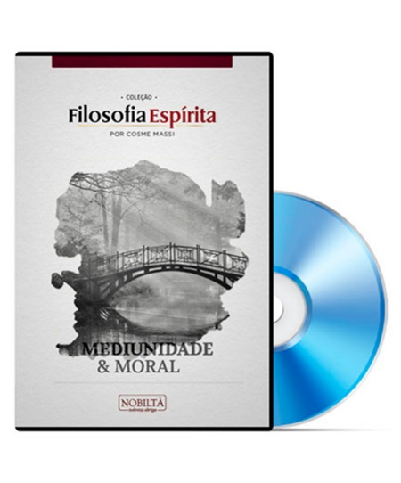 MEDIUNIDADE E MORAL - DVD