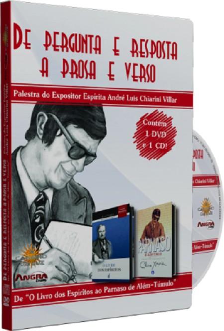 DE PERGUNTA E RESPOSTA A PROSA E VERSO - DVD
