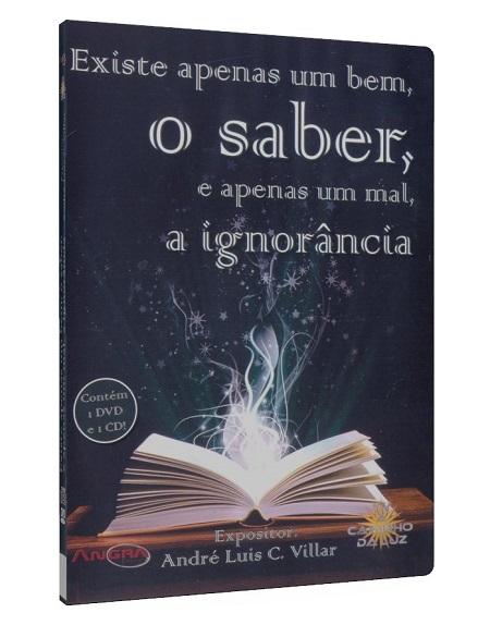 EXISTE APENAS UM BEM O SABER - DVD