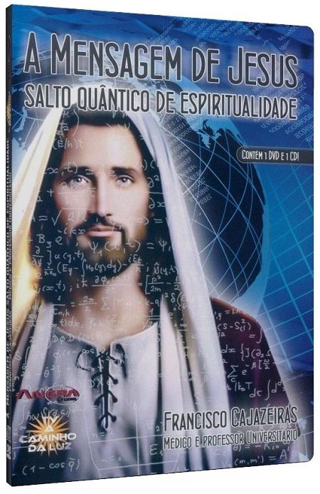 MENSAGEM DE JESUS, (A) - SALTO QUÂNTICO DE ESPIRITUALIDADE - DVD