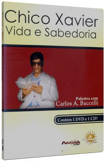 CHICO XAVIER - VIDA E SABEDORIA - DVD