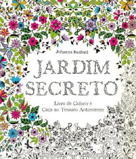 JARDIM SECRETO - COLORIR