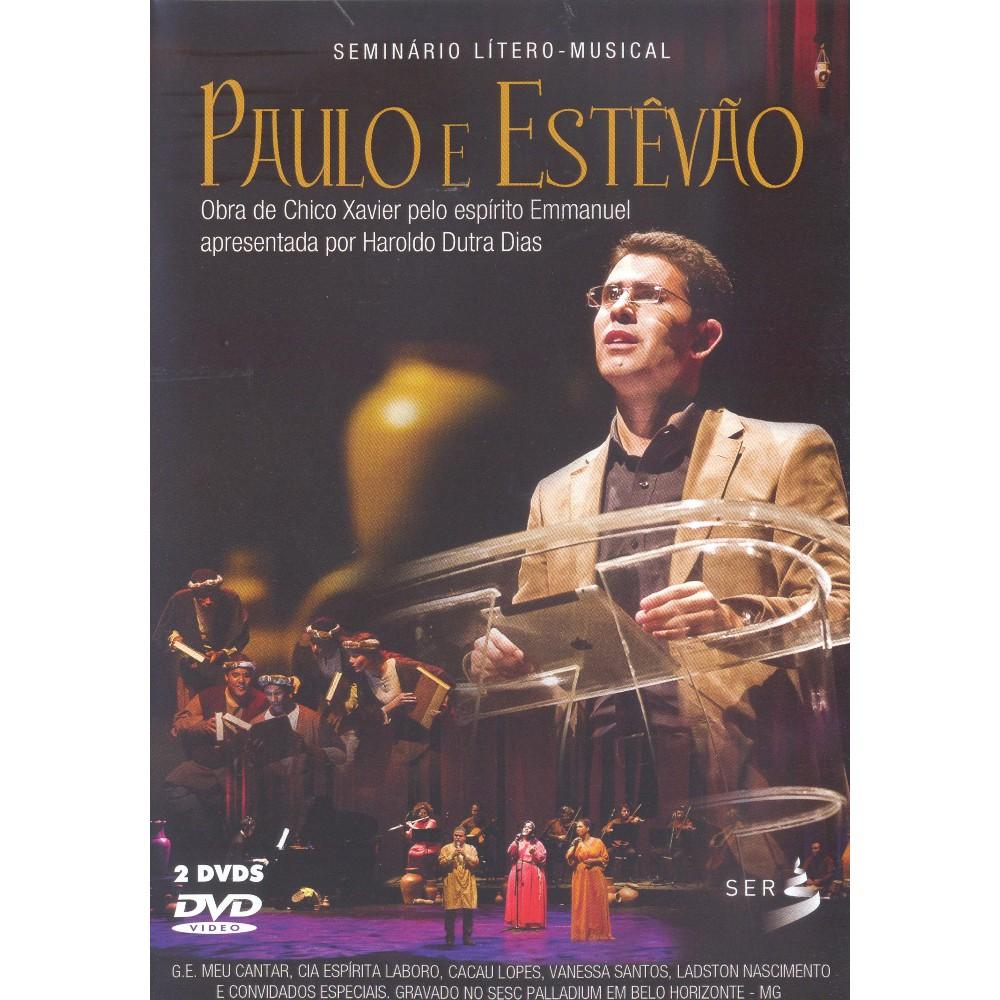 PAULO E ESTEVAO - DVD DUPLO