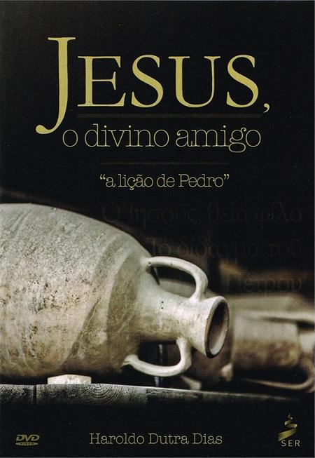 JESUS O DIVINO AMIGO - DVD