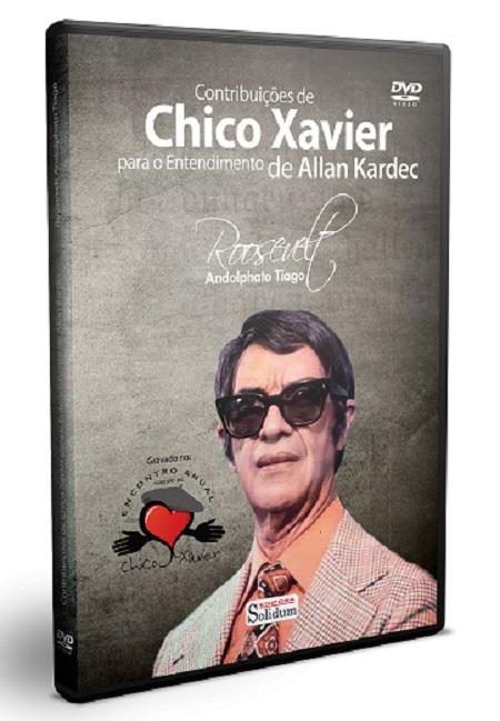CONTRIBUICOES DE CHICO XAVIER  - DVD - PARA O ENTENDIMENTO DE ALLAN KARDEC