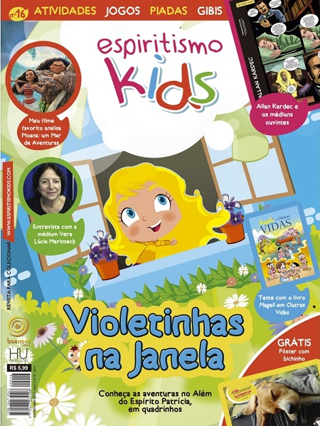 ESPIRITISMO KIDS - REVISTA 16