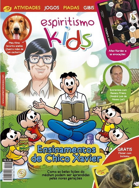 ESPIRITISMO KIDS - REVISTA 17