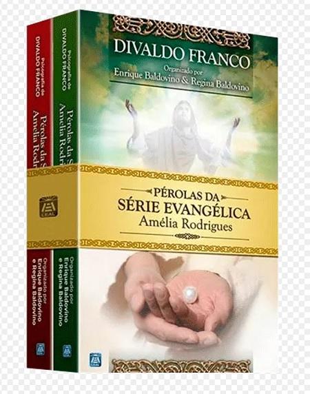 KIT - PEROLAS DA SERIE EVANGELICA - AMELIA RODRIGUES VOL 1 E 2