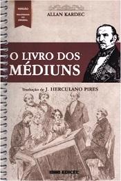 LIVRO DOS MEDIUNS - ESPIRAL-NORMAL - EDICEL- BNOVA