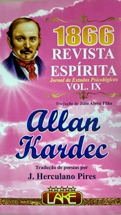 REVISTA ESPIRITA 1866 - VOL IX - LAKE