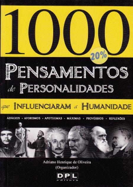 MIL PENSAMENTOS DE PERSONALIDADES