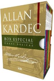 BOX ESPECIAL ALLAN KARDEC - OBRAS BASICAS