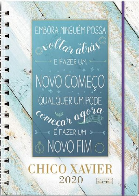 CHICO XAVIER 2020 - WIRE O - CAPA DURA