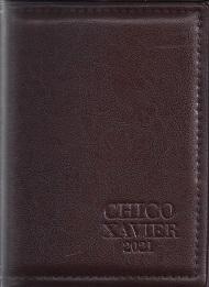 AGENDA CHICO XAVIER 2021 LUXO COURO SINTETICO