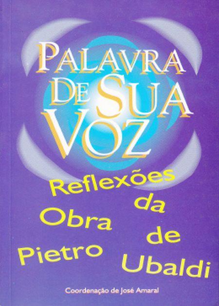 PALAVRA DE SUA VOZ