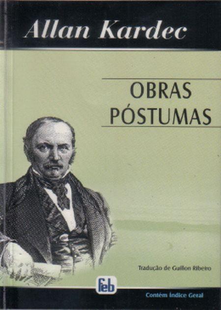 OBRAS POSTUMAS - MEDIO