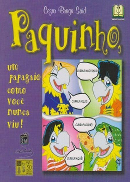 PAQUINHO UM PAPAGAIO C/VOCE NUNCA VIU - INF.