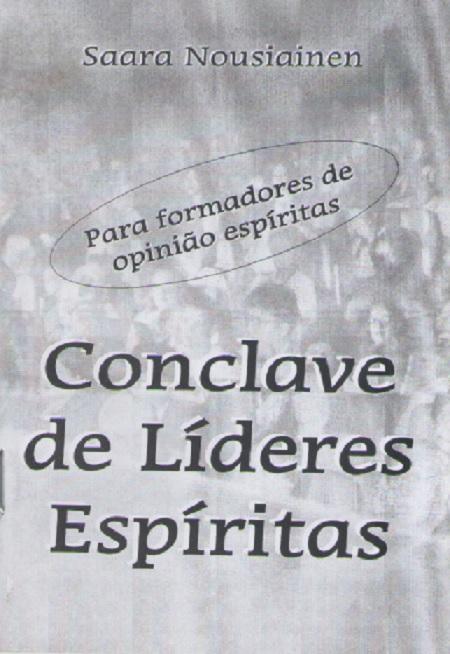 CONCLAVE DE LIDERES ESPIRITAS - BOLSO
