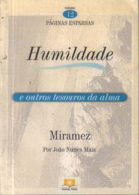 HUMILDADE - VOL. 12 (BOLSO)