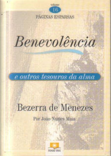 BENEVOLENCIA - VOL. XVI (BOLSO)