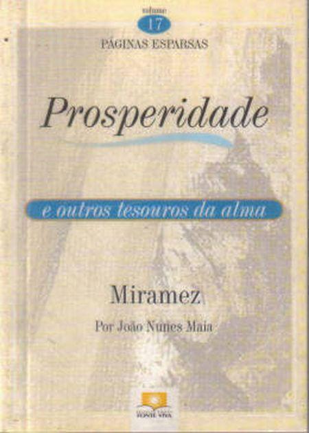PROSPERIDADE - VOL. 17 (BOLSO)