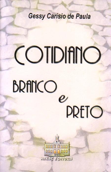 COTIDIANO BRANCO E PRETO-BOLSO