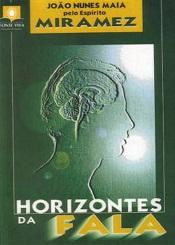HORIZONTES DA FALA