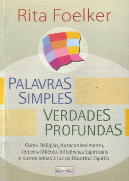PALAVRAS SIMPLES VERDADES PROFUNDAS