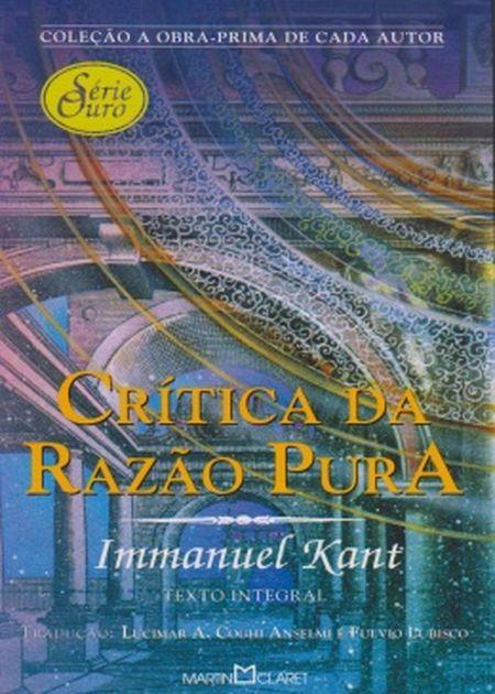 CRITICA DA RAZAO PURA