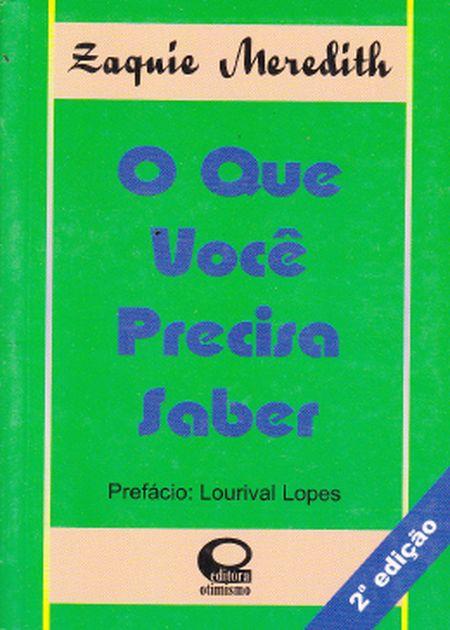 QUE VOCE PRECISA SABER (O) (BOLSO)