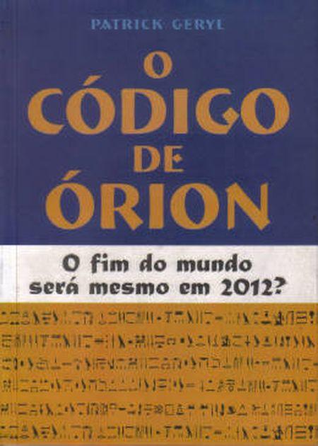 CODIGO DE ORION (O)