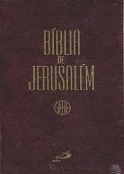 BIBLIA DE JERUSALEM - MEDIA - ENCAD. - CAPA DURA