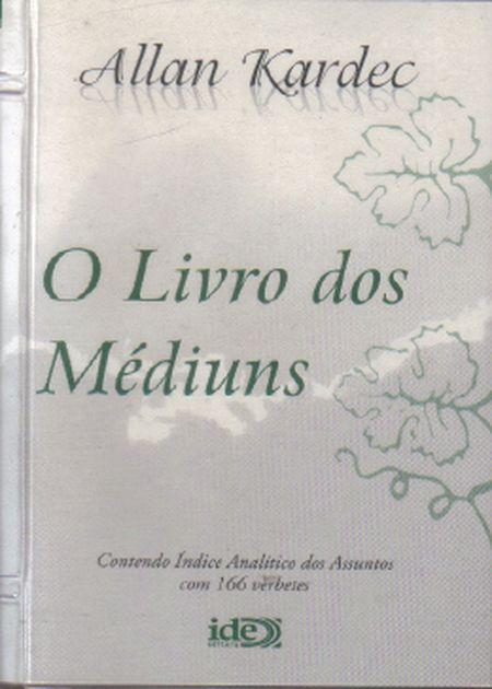 LIVRO DOS MÉDIUNS (O) - BOLSO BRANCO