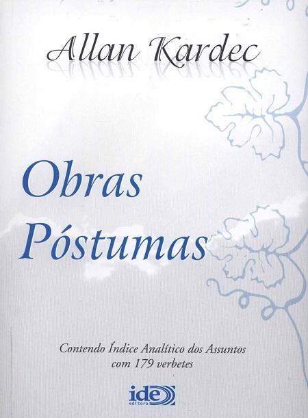 OBRAS POSTUMAS - MEDIO BRANCO