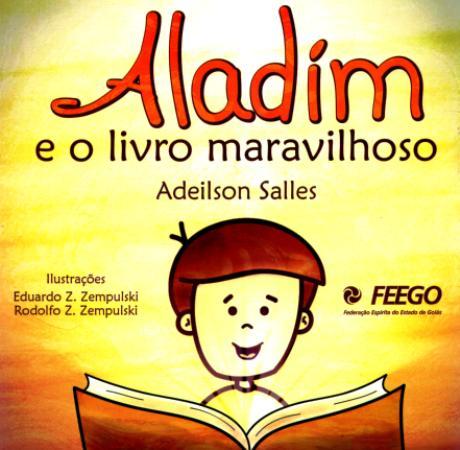 ALADIM E O LIVRO MARAVILHOSO - INFANTIL