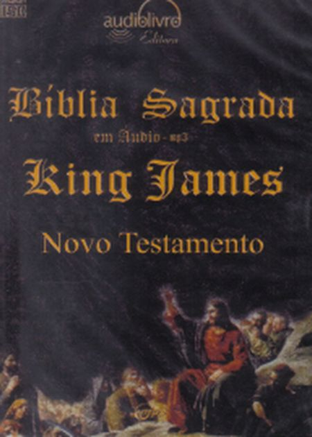 BÍBLIA SAGRADA KING JAMES - NOVO TESTAMENTO - AUDIOBOOK (MP3)