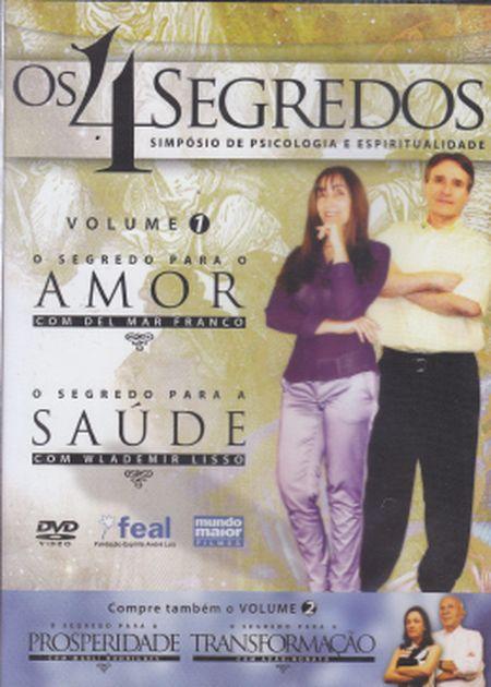 4 SEGREDOS (OS) AMOR E SAÚDE - VOL. 1 - DVD