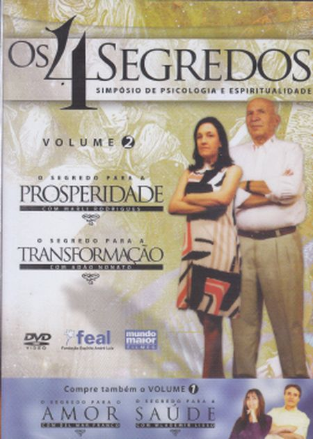 4 SEGREDOS (OS) TRANSFORMAÇÃO E PROSPERIDADE - VOL. 2 - DVD