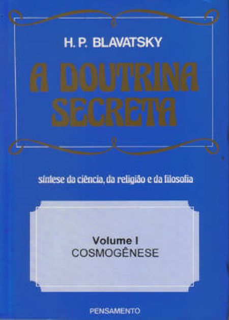 DOUTRINA SECRETA (A) - VOL.I