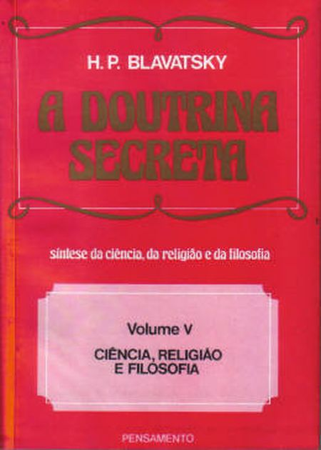 DOUTRINA SECRETA (A)  VOL V