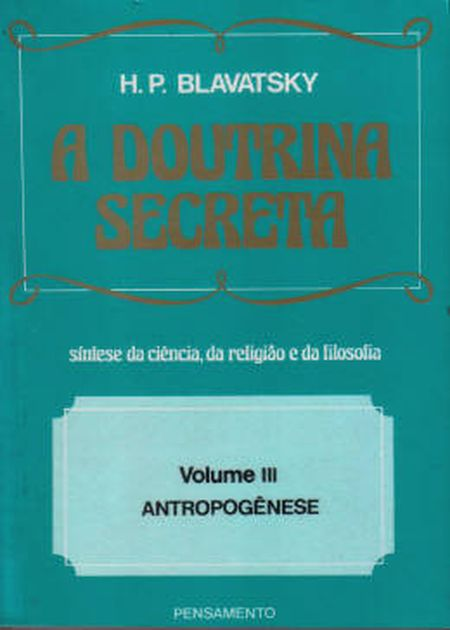 DOUTRINA SECRETA (A)  - VOL. III