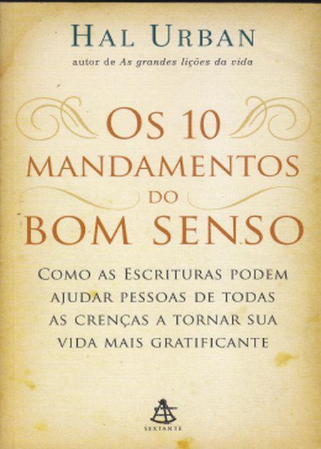 10 MANDAMENTOS DO BOM SENSO