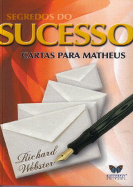 SEGREDOS DO SUCESSO CARTAS PARA MATHEUS