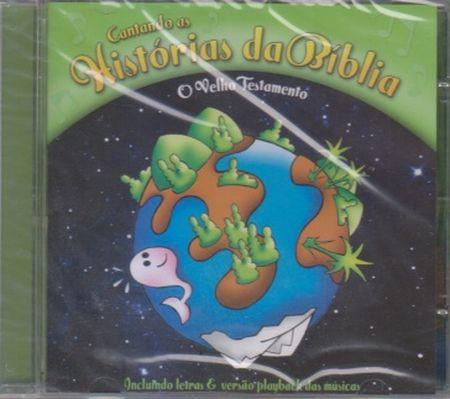 VELHO TESTAMENTO (O) CD - CANTANDO AS HISTORIAS DA BIBLIA
