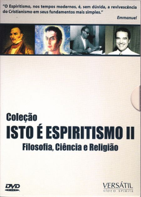 COLEÇÃO ISTO É ESPIRITISMO - VOL. II - DVD